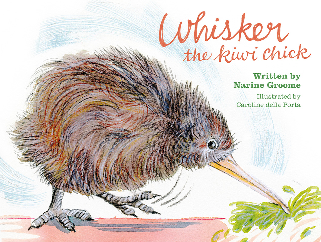 Cover image for Whisker the Kiwi Chick